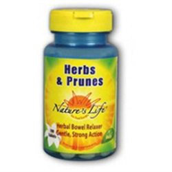 Nature's Life Herbs and Prunes - 250 Tablets