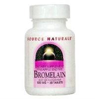 Source Naturals Bromelain 600 GDU - 500 mg - 120 Tablets