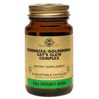 Solgar Echinacea-Goldenseal-Cat's Claw Complex - 60 Vegetable Capsules
