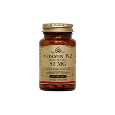 Solgar Vitamin B2 Riboflavin - 50 mg - 100 Tablets