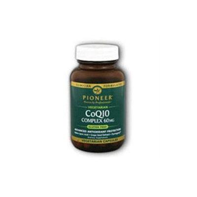 Pioneer Nutritionals Pioneer CoQ10 Complex Vegetarian - 60 mg - 60 Vegetarian Capsules
