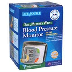 Lifesource Dual Memory Wrist Blood Pressure Monitor