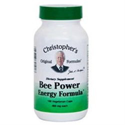 Dr Christophers Bee Power Energy Formula by Dr. Christopher's - 100 Vegetarian Capsules