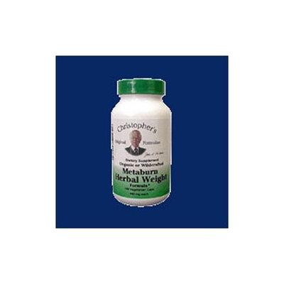 Dr Christophers Dr. Christopher's Metaburn Herbal Weight 100 Vegetarian Caps