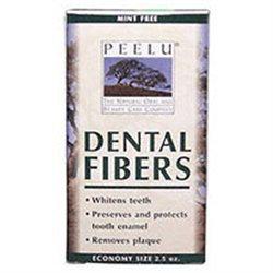 Peelu - Dental Fibers Tooth Powder Unflavored - 2.5 oz.