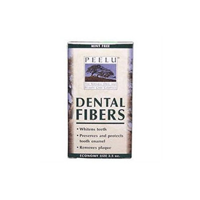 Peelu - Dental Fibers Tooth Powder Unflavored - 2.5 oz.