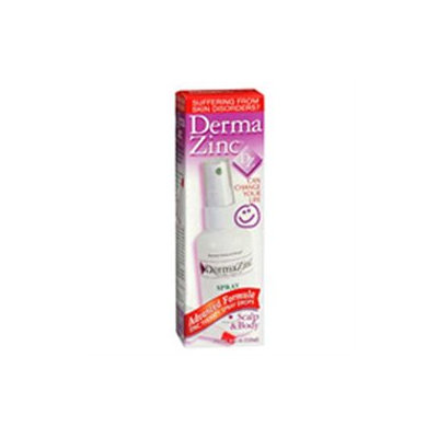 Dermazinc Zinc Therapy Spray Drops for Psoriasis - 4 Oz