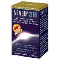 Memory 2000, 42 Capsules, Natural Balance