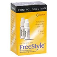 Freestyle Glucose Control Solution Vial - 4 Ml Ea, 2 Pack