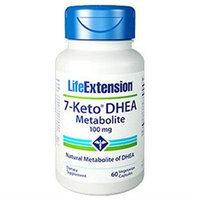 Life Extension - 7-Keto DHEA Metabolite 100 mg. - 60 Vegetarian Capsules