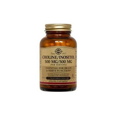 Solgar Choline/Inositol - 50 Veggie Caps - Other Vitamins