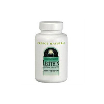 Source Naturals Lecithin - 1200 mg - 200 Softgels