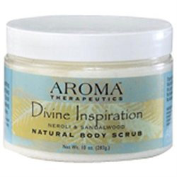 ABRA Therapeutics, Aroma Therapeutics Divine Inspiration Body Scrub 10 oz