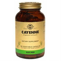 Solgar Cayenne 520 MG - 100 Veggie Caps - Other Herbs