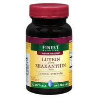 Finest Nutrition Lutein 25 MG with Zeaxanthin 5 MG