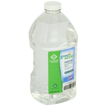 Clorox Green Works 00460 Commercial Solutions Glass and Surface Cleaner, 64 fl oz Refill