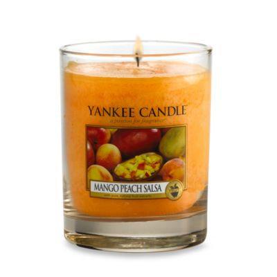 Yankee Candle Mango Peach Salsa Small Lidded Tumbler Candle