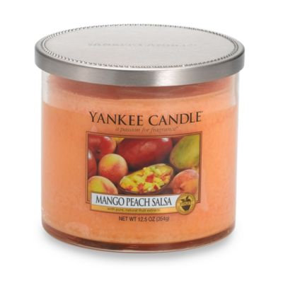 Yankee Candle Mango Peach Salsa Medium Lidded Tumbler Candle