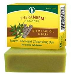 Organix South TheraNeem Therape Cleansing Bar Neem Leaf Oil and Bark - 4 oz