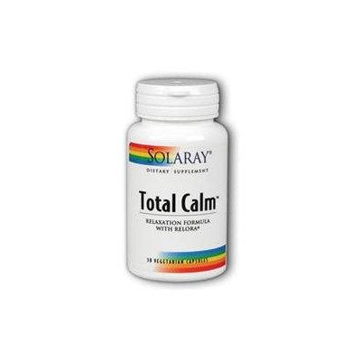 Solaray Total Calm - 30 Vegetarian Capsules