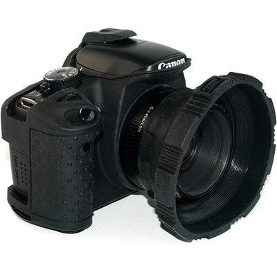 MADE Rubberized Camera Armor Case for Canon Rebel XSi, XS, T1i & T2i (Black)