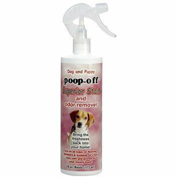 Lifes Great Products (Poop Off) Poop-Off Superior Stain and Odor Remover 16 oz with Sprayer for Dogs and Puppies