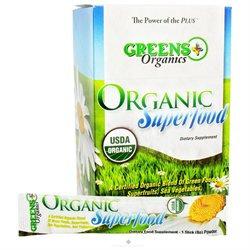 Greens Plus - Organic Superfood Stick Pack Box - 15 Sticks