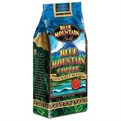 Hawaiian Gold Kona Ground Coffee Blue Mountain - 10 oz