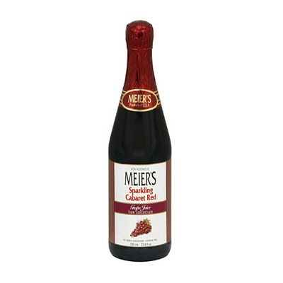Meier's Grape Sparkling Red Cabaret 100% Juice