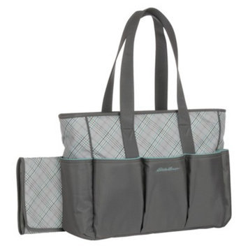 Eddie Bauer Meadowbrook Diaper Bag - Gray