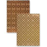 Spellbinders M-Bossabilities A4 Embossing Folder - 2 Sides - Imperial