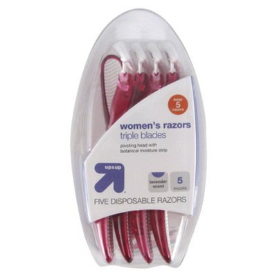 up & up up&up Women's Triple Blade Disposable Razors - 5ct