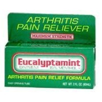 Eucalyptamint arthritis pain relief ointment - 2 oz