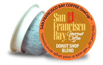 San Francisco Bay Single Serve Coffee K-Cups Donut Shop Blend - 12 K-Cups