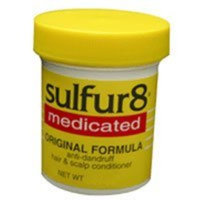 Sulfur 8 Medicated Regular Formula Anti-Dandruff Hair & Scalp Conditioner - 2 Oz