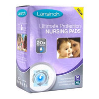 Lansinoh Ultimate Protection Nursing Pads 50 ct, Baby Purple