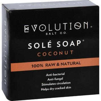 Evolution Salt BATH SOAP, SOLE, COCONUT