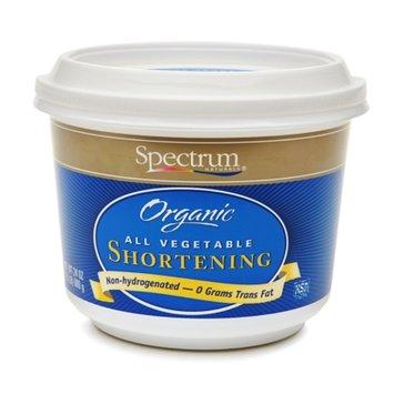 Spectrum Naturals Organic All Vegetable Shortening