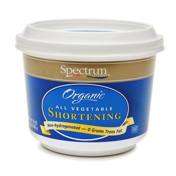 Spectrum Naturals Organic All Vegetable Shortening