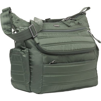 Lug Hula Hoop Carry-All Messenger Diaper Bag Olive Green - Lug Diaper Bags