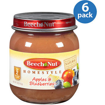 Beech-Nut Stage 2 Homestyle Apples & Blueberries Baby Food