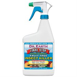 Dr. Earth 24 Oz Final Stop Fruit Tree Insect Killer RTU
