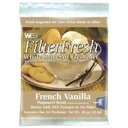 WEB Products Inc. WVAN Vanilla Scent FilterFresh Whole Home Air Freshener