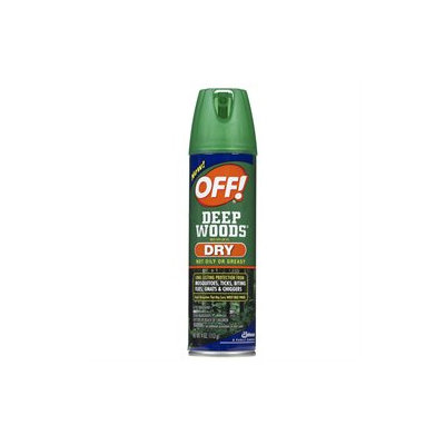 Off! 71765 4 oz Deep Woods Dry Insect Repellent