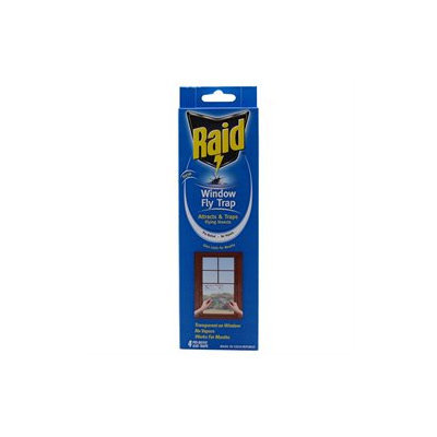 Raid FTRP-RAID Window Fly Trap, 4 Count