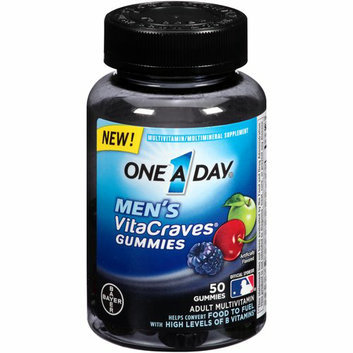 One a Day Men's VitaCraves Gummies Multivitamin/Multimineral Supplement