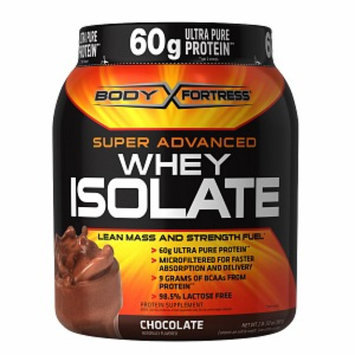 Body Fortress Super Advanced Whey Isolate, Chocolate, 2 lbs