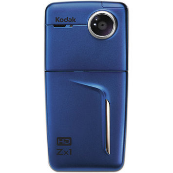 Kodak Zx1 Blue Pocket Video Camera with 2.4