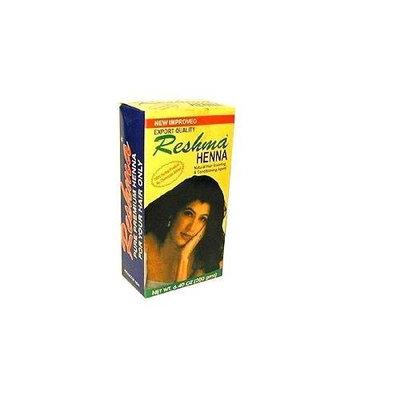 Reshma  Henna Powder,  6.40 -Ounce Box  (Pack of 6)