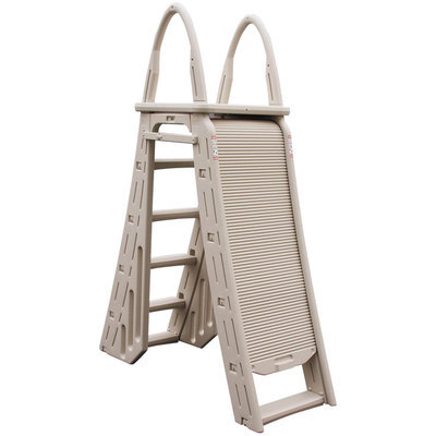 Topo-logic Systems, Inc. TOPO-LOGIC SYSTEMS, INC. Roll Guard A Frame Safety Ladder - TOPO-LOGIC SYSTEMS, INC.